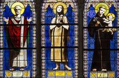Iglesia de Notre Dame de la compassion, París, Francia Imagen de archivo libre de regalías