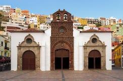 Iglesia de Nuestra de la Asuncion Arkivbilder