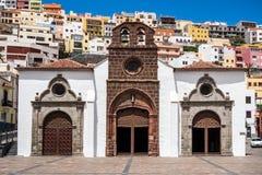 Iglesia de Nuestra de la Asuncion Arkivbild