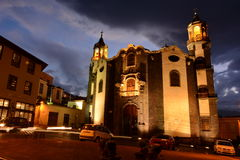 Iglesia De Nuestra señora de losu angeles Concepcià ³ n zdjęcie stock