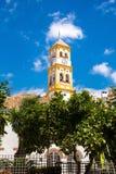 Iglesia De Nuestra señora de losu angeles Encarnacià ³ n, Marbella obraz stock