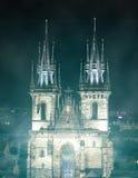 Iglesia de nuestra señora antes Imagenes de archivo