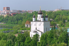 Iglesia de nuestra señora de Kazán. Rusia, ciudad Orel. Fotos de archivo libres de regalías