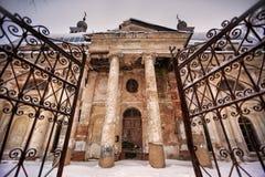 Iglesia de nuestra señora de Kazan Fotografía de archivo