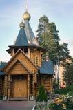 Iglesia de nuestra señora de Neopalimaya Kupina Imagenes de archivo