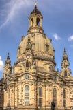 Iglesia de nuestra señora, Dresden Fotos de archivo libres de regalías