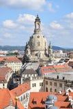 Iglesia de nuestra señora en Dresden Imágenes de archivo libres de regalías
