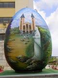 Iglesia de nuestra señora en Medjugorje en Bosnia y Hercegovina Fotografía de archivo libre de regalías