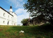 Iglesia de nuestra señora, pequeña ciudad de Sviyazhsk, Rusia Foto de archivo libre de regalías