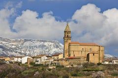 Iglesia de Nuestra Senora de la Asuncion Stock Photography