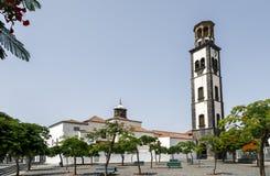 Iglesia de Nuestra Senora de la Concepcion en Santa Cruz de Tenerife Imagen de archivo libre de regalías