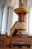 Iglesia de nuestro salvador, Copenhague foto de archivo libre de regalías