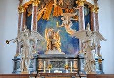 Iglesia de nuestro salvador, Copenhague fotografía de archivo libre de regalías
