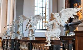 Iglesia de nuestro salvador, Copenhague imagen de archivo libre de regalías