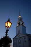 Iglesia de Nueva Inglaterra Imagen de archivo