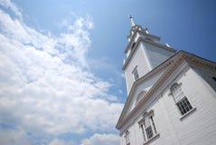 Iglesia de Nueva Inglaterra Fotografía de archivo