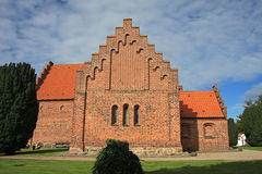 Iglesia de Nykobing Sjælland fotografía de archivo