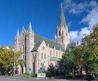Iglesia de Olaus Petri en Orebro, Suecia Imagen de archivo libre de regalías