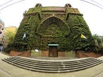 Iglesia de Olivos Fotografía de archivo libre de regalías