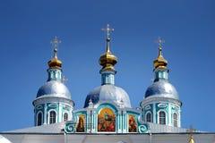 Iglesia de Ortodox fotografía de archivo