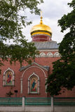 Iglesia de Ortodox en Letonia Imágenes de archivo libres de regalías