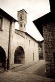 Iglesia de Ossuccio, Italia Foto de archivo libre de regalías