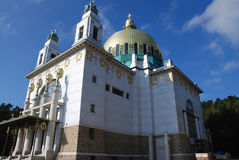 Iglesia de Otto Wagner imagenes de archivo