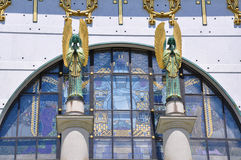 Iglesia de Otto Wagner, Viena Imagen de archivo libre de regalías