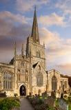 Iglesia de Oxfordshire Fotografía de archivo libre de regalías