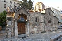 Iglesia de Panaghia Kapnikarea Foto de archivo libre de regalías