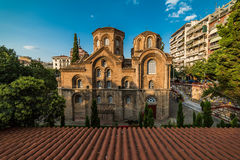 Iglesia de Panagia Chalkeon, 11mo cectury, Grecia Foto de archivo