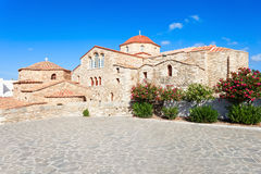 Iglesia de Panagia Ekatontapyliani, Paros Imagen de archivo