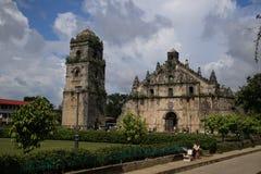 Iglesia de Paoay Fotos de archivo