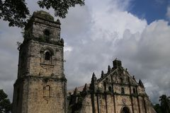 Iglesia de Paoay Imagenes de archivo