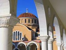 Iglesia de Paralimni en Chipre Fotos de archivo libres de regalías