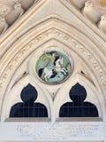 Iglesia de Paralimni en Chipre Imagen de archivo libre de regalías