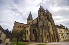 Iglesia de Paray Le Monial Foto de archivo libre de regalías