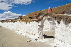 Iglesia de Parinacota, Chile Fotos de archivo libres de regalías