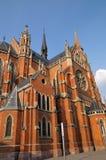 Iglesia de parroquia de San Pedro y de Paul, Osijek Foto de archivo