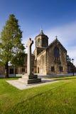 Iglesia de parroquia vieja de Falkirk imagen de archivo libre de regalías