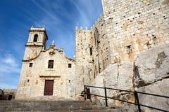 Iglesia de Peniscola Foto de archivo libre de regalías