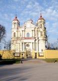 Iglesia de Peter y de Paul fotos de archivo