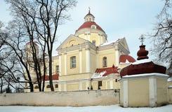 Iglesia de Peter y de Paul en Vilnius fotos de archivo libres de regalías