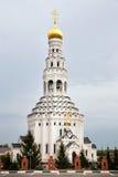 Iglesia de Peter y de Paul Prokhorovka Rusia Imagen de archivo libre de regalías