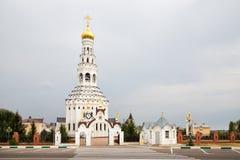 Iglesia de Peter y de Paul Prokhorovka Rusia Imagenes de archivo
