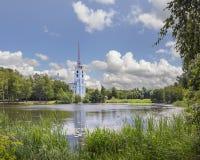 Iglesia de Peter y de Paul yaroslavl Rusia Imagen de archivo libre de regalías