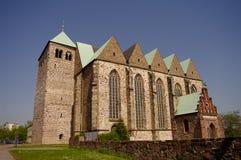 Iglesia de Petri del santo en Magdeburg, Alemania Fotografía de archivo