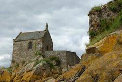 Iglesia de piedra Foto de archivo libre de regalías