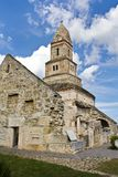 Iglesia de piedra antigua Imagenes de archivo