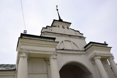 Iglesia de piedra blanca de Rusia fotos de archivo